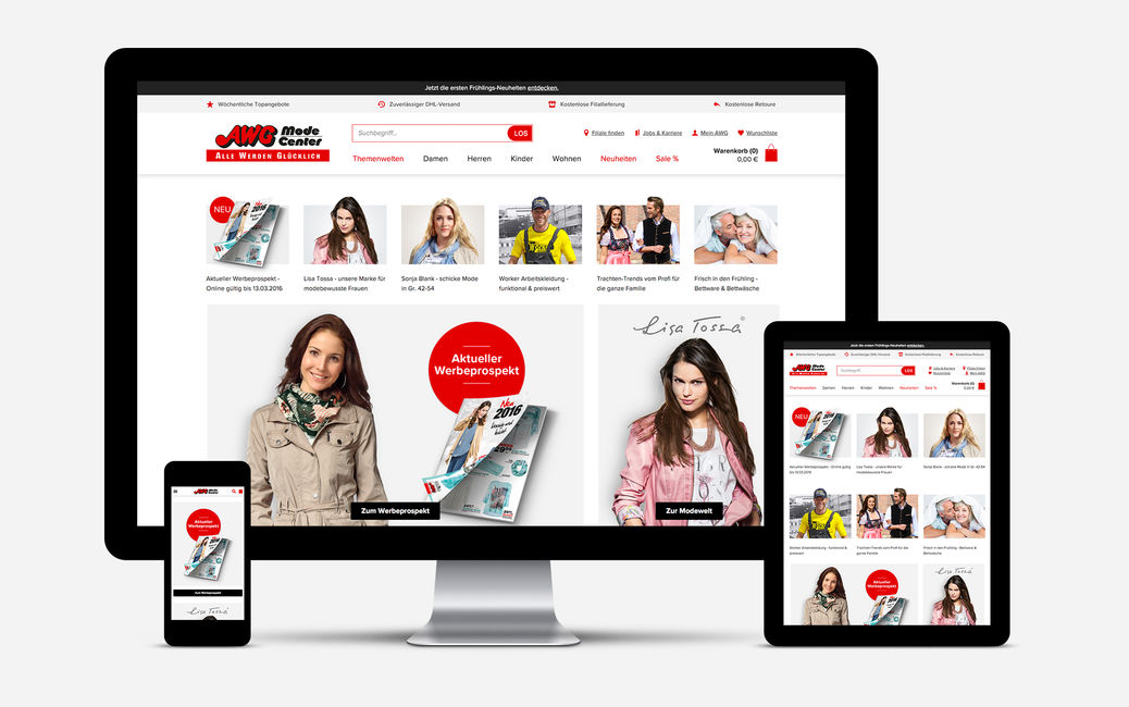 d949ca614498d8 AWG Mode's completely revamped online store helps make its customers even  happier.